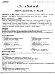 Chula Sakarat - Early Cancellations of SIAM